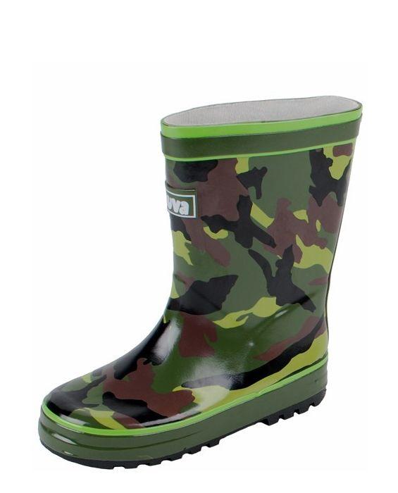 Kinderregenlaarzen Army / Camouflage