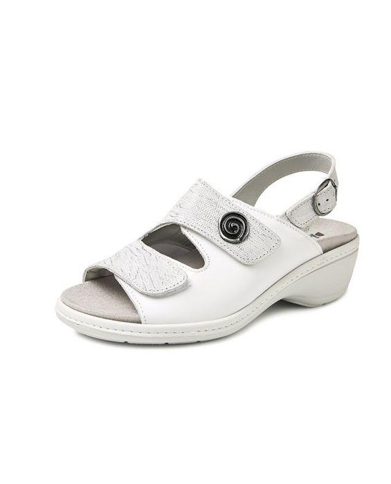 Bighorn sandaal 4977 zilver wit